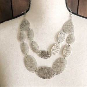BANCROFT Layered Oval Necklace